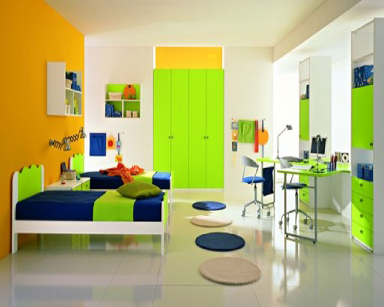 Tips to designing your children 39 s room tolet insider - Best colour for study room ...