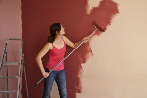 paint covering subsurface
