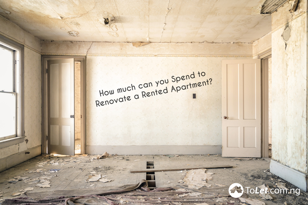 How much can you Spend to Renovate a Rented Apartment?