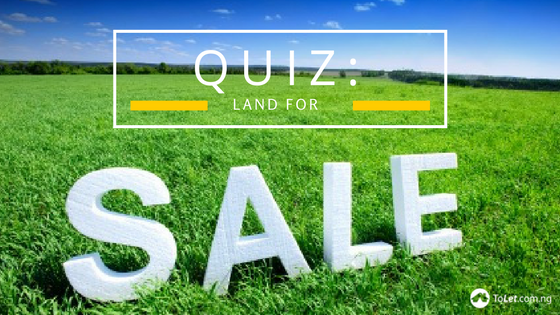 Quiz: Land for sale in Lagos