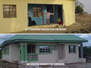 Outdated vs Modern Window Design