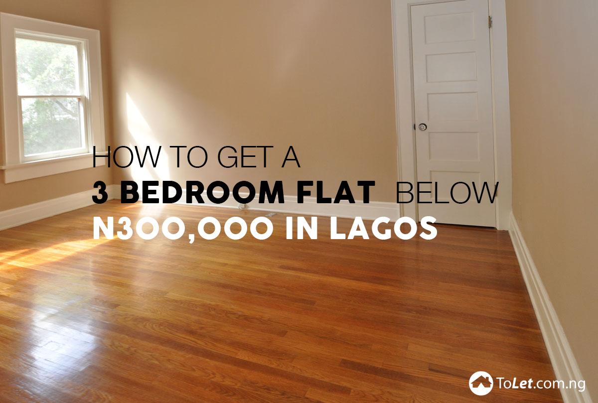 Three bedroom flats in Lagos