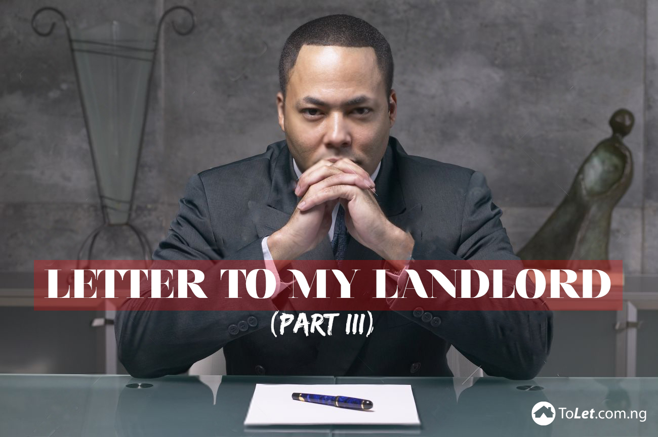 Letters to my Landlord