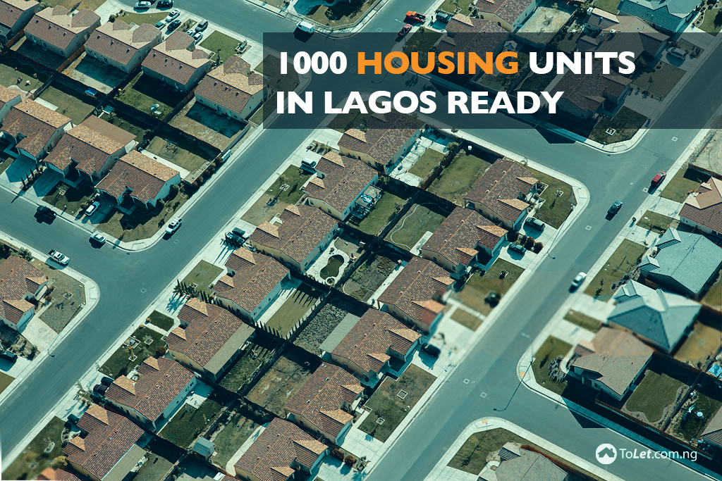 1000 Housing Units In Lagos Ready