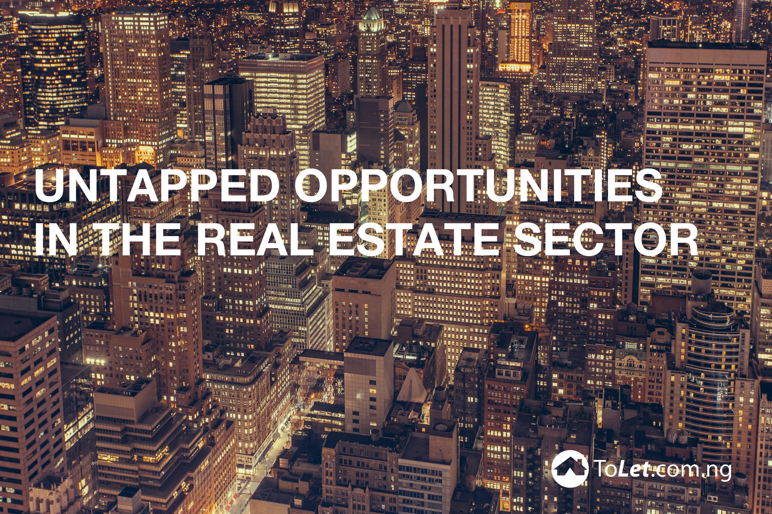 The untapped opportunities in the real estate sector