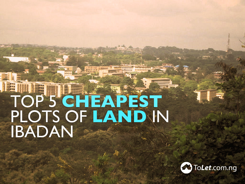cheapest plots of land in Ibadan