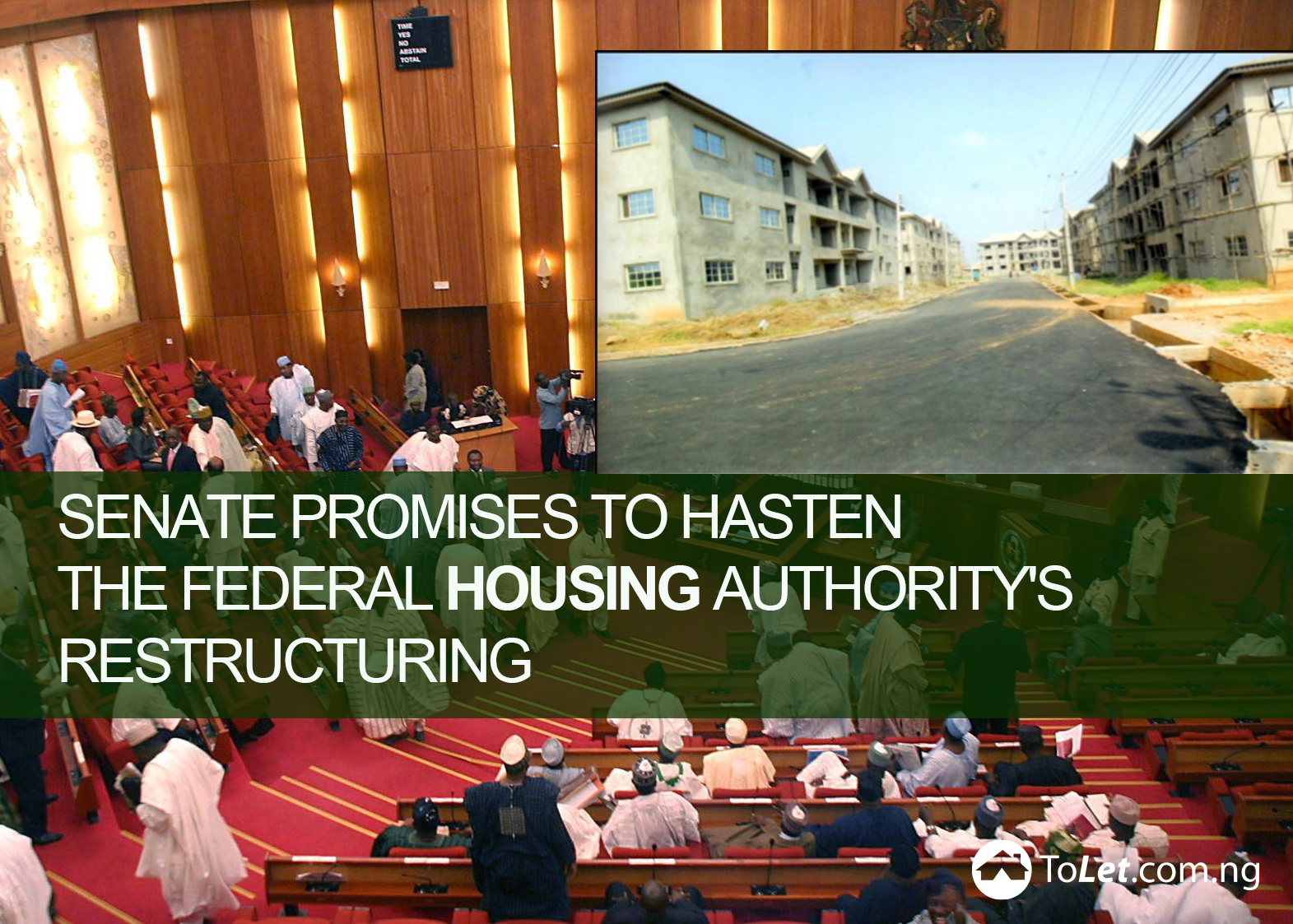 Senate Promises to Hasten the FHA's Restructuring