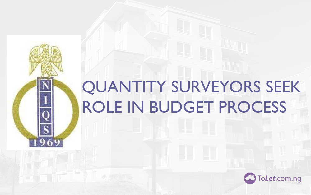 Quantity Surveyors Seek Role in Budget Process