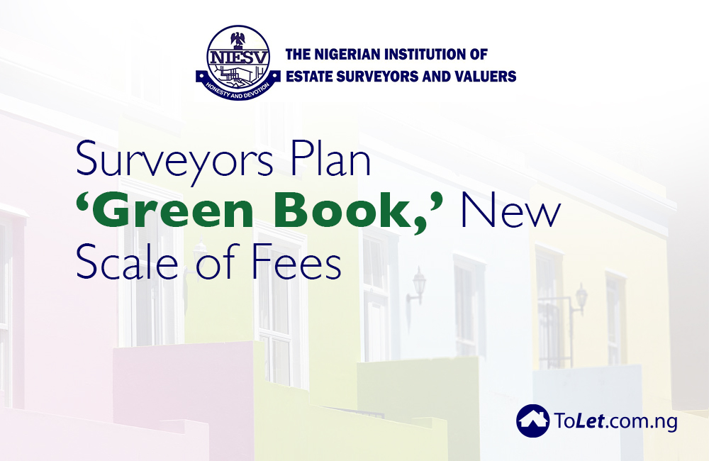 Surveyors Plan 'Green Book,' New Scale of Fees