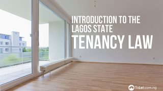 Lagos tenancy law