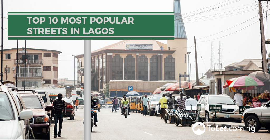 top 10 Most Popular Streets in Lagos