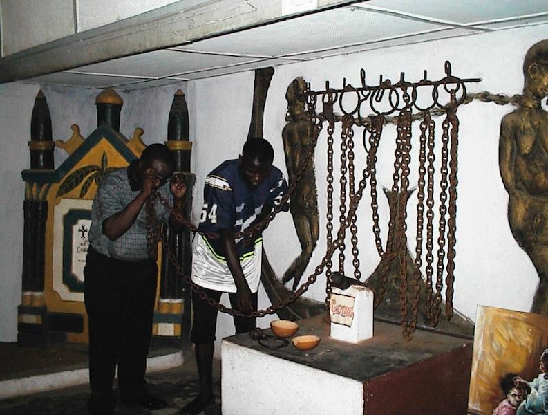 badagry slave trade relics