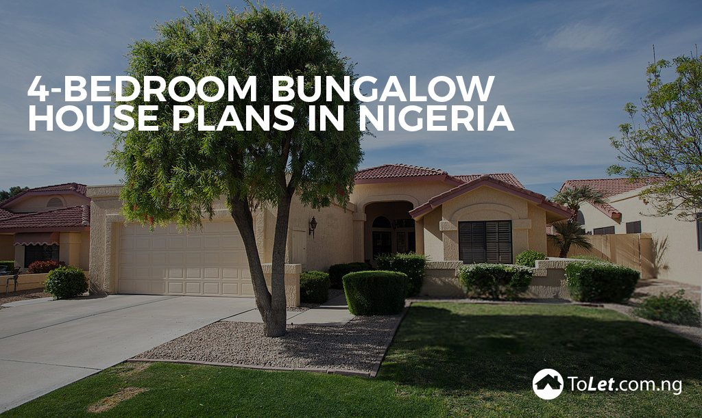 4 bedroom bungalow house plans in nigeria tolet insider for Nigeria house design plans
