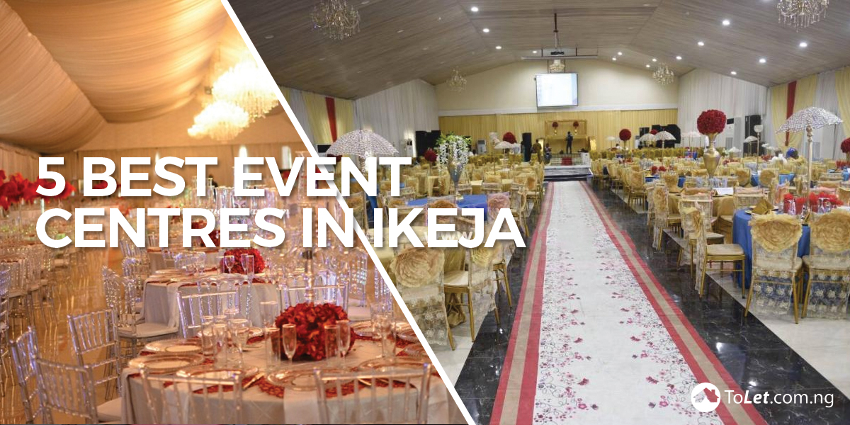 Event centres in Ikeja
