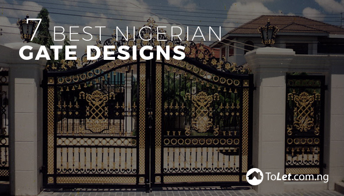 Steel Nigeria Gate Design Ideas For Modern House