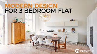 Modern Design For A 3-Bedroom Flat