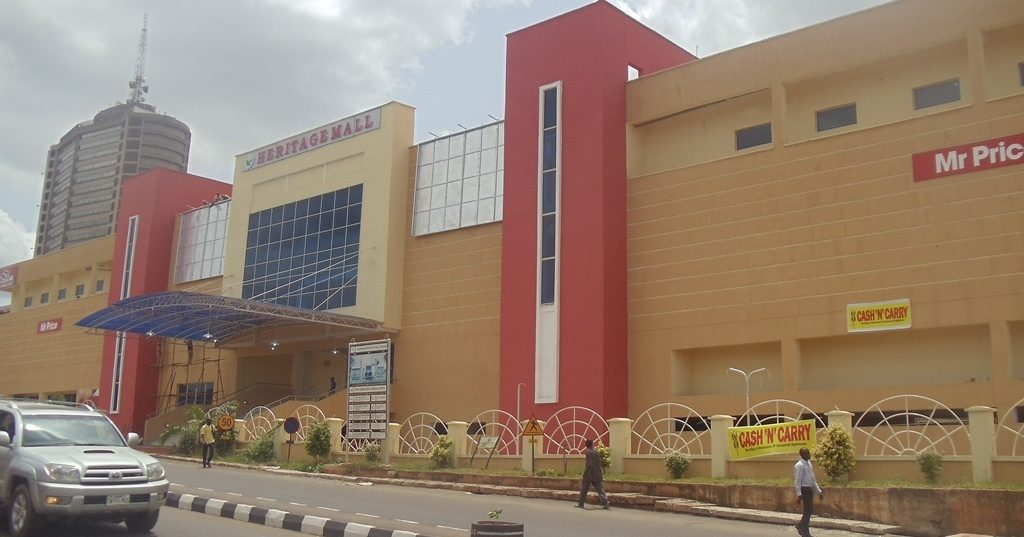 Heritage Mall Filmhouse Cinema Dugbe