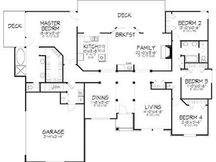 4 bedroom bungalow house plans in nigeria tolet insider for 4 bedroom house designs in nigeria