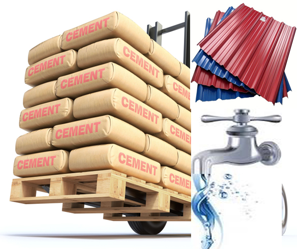 Cost of building materials in nigeria tolet insider for Construction materials cost