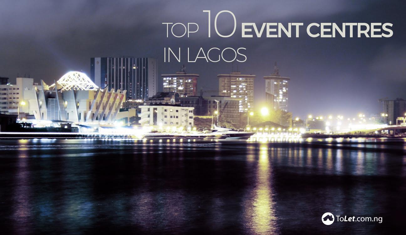 top 10 event centres in Lagos
