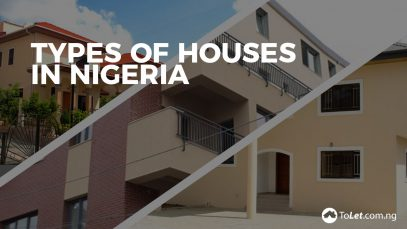 Bungalow tolet insider for Types of houses in nigeria