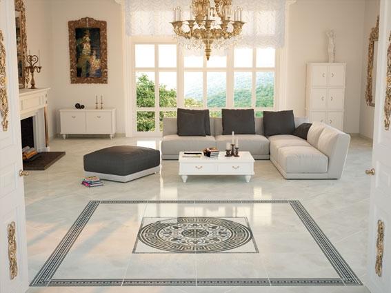 Centre piece tile design