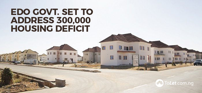 Edo Govt addresses 300,000 housing deficit