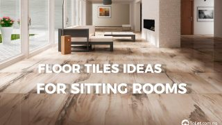 Floor Tiles ideas for sitting rooms