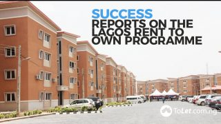Success reports on the Lagos Rent to Own Programme
