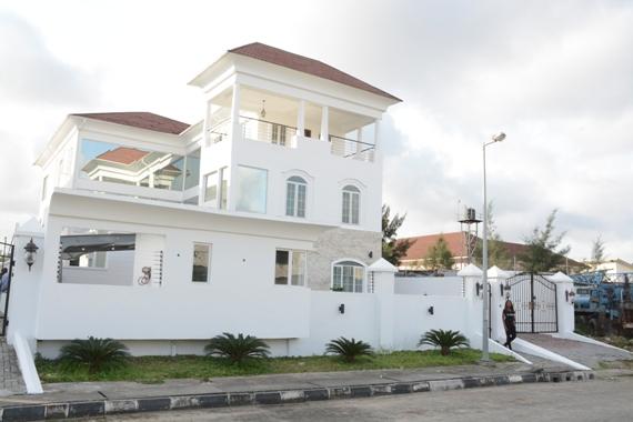 Linda Ikeji House Banana Island