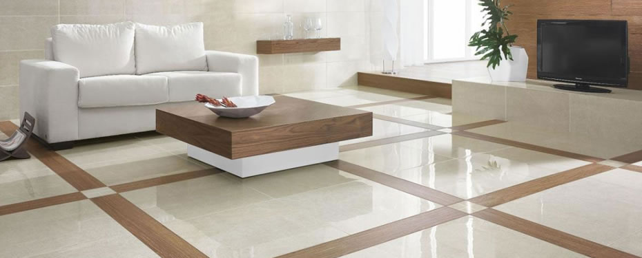 window pane plaid floor tile design is elegant and subtle when