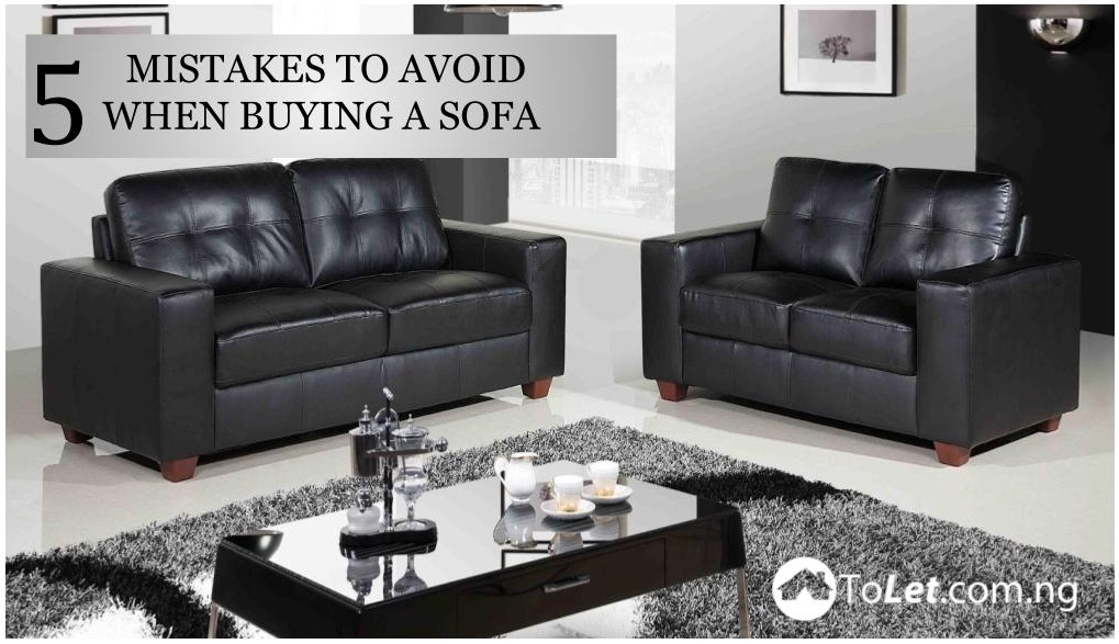 mistakes when buying sofa