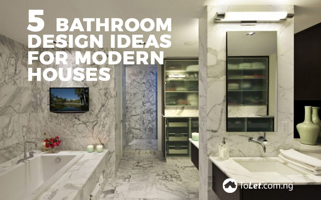 5 bathroom design ideas for modern houses tolet insider - Bathroom design blogs ...
