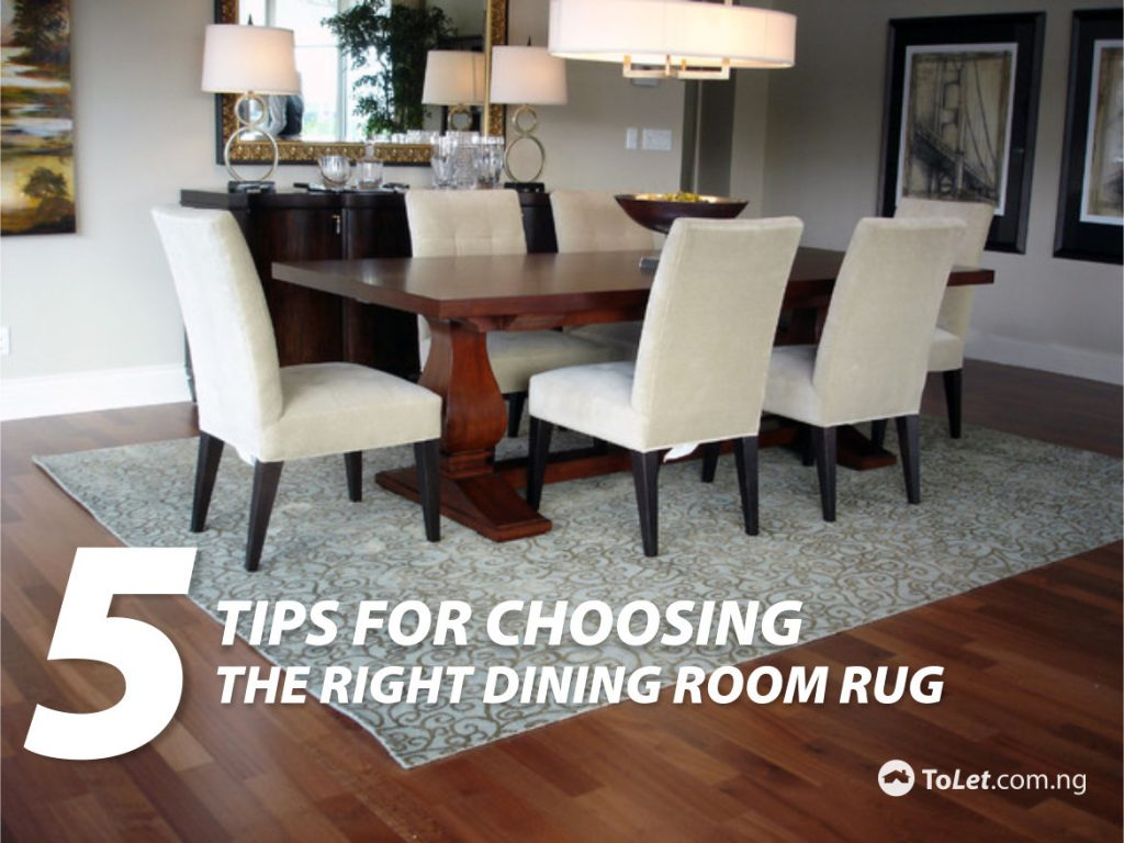 Dining room rug the best size for your rug pics of how to for Dining room rug size