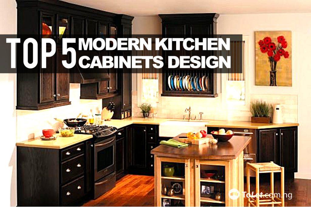 Top 5 Modern Kitchen Cabinet Designs Tolet Insider