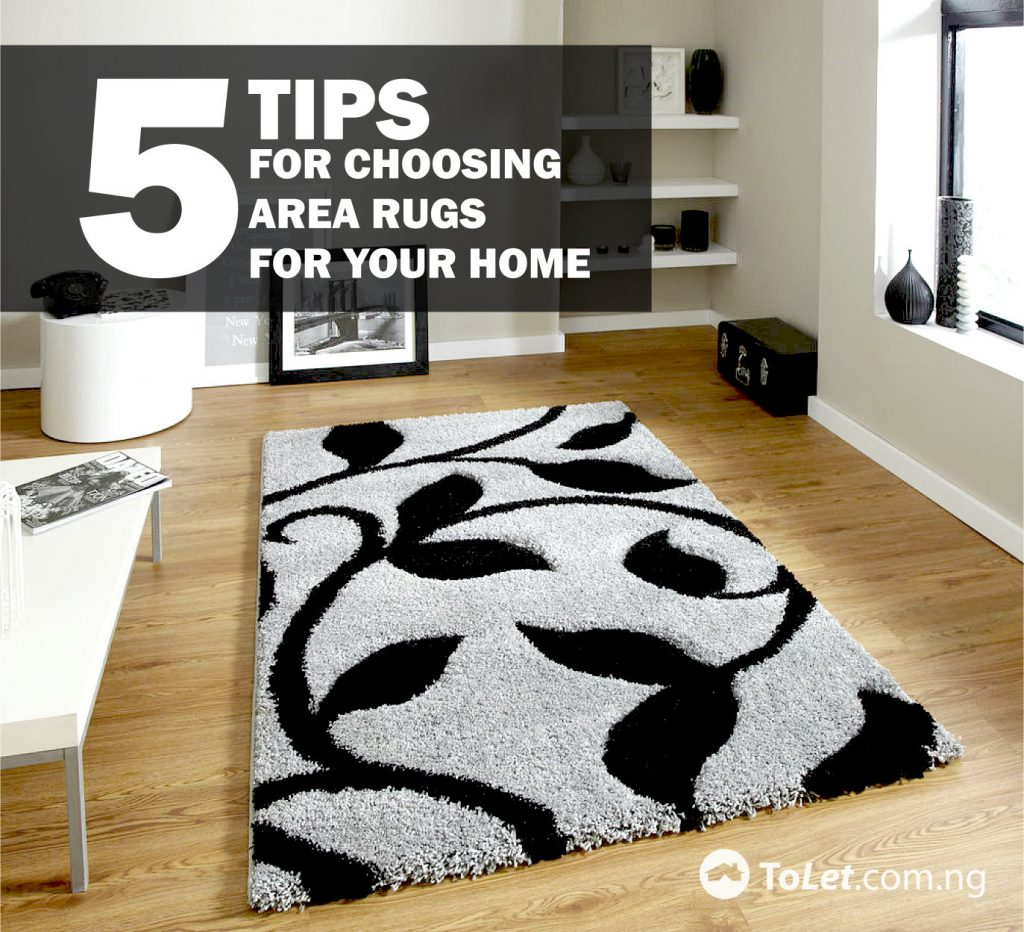 5 Tips for Choosing Area Rugs for Your Home