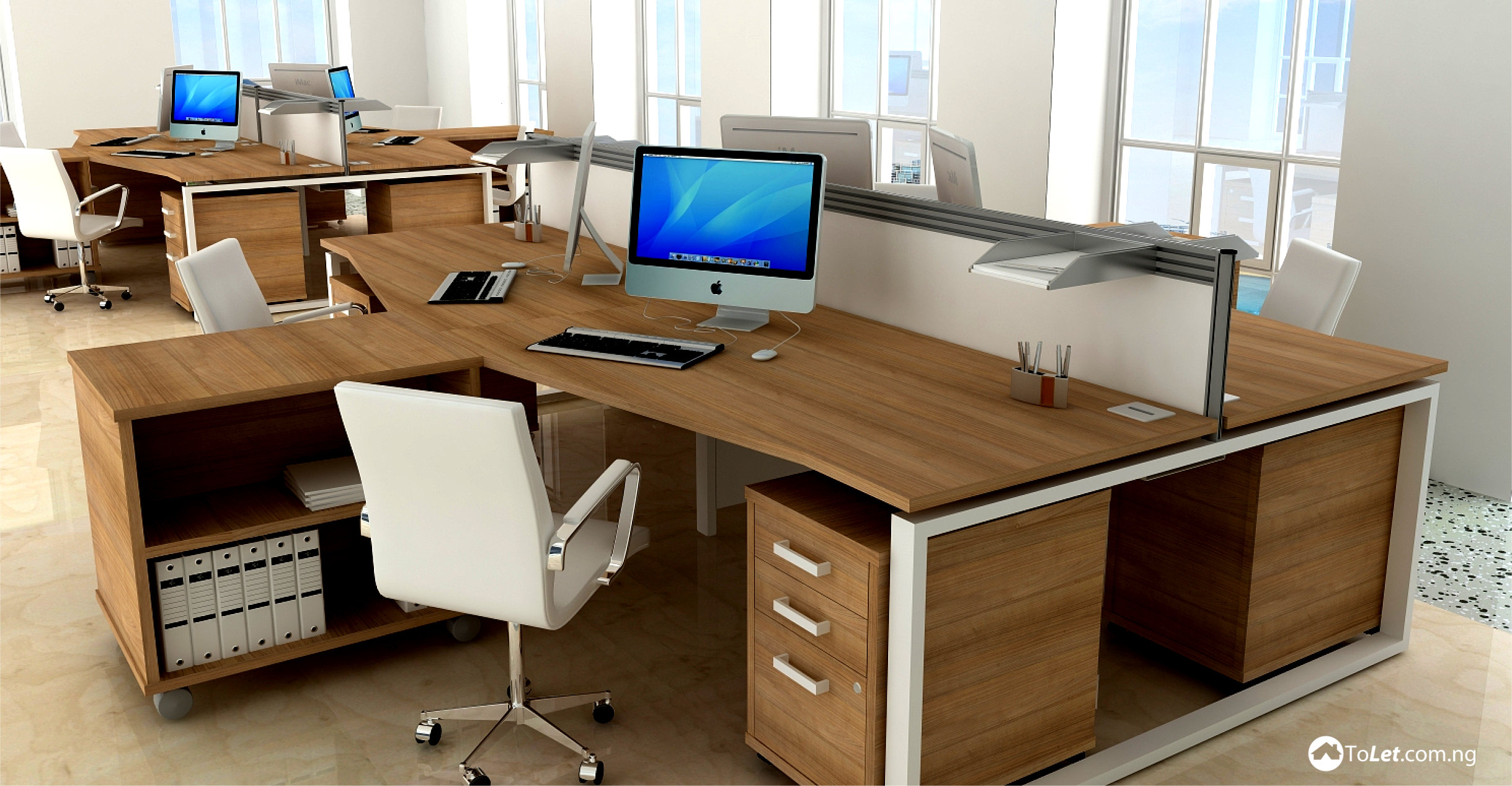 Elegant Office Desks Are One Of The Most Important Components Of An Office, This Is  Beacuse An Office Canu0027t Sucessfully Operate Without A Desk Where Business  ...