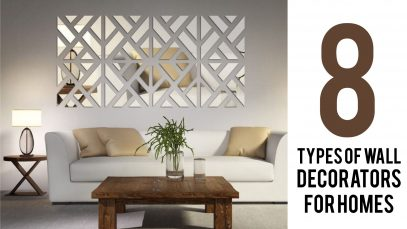 8 Types of Wall Decorators for Homes