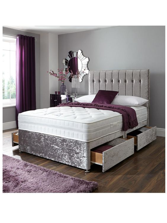 7 cool bed types that can help save space tolet insider for Divan footboard