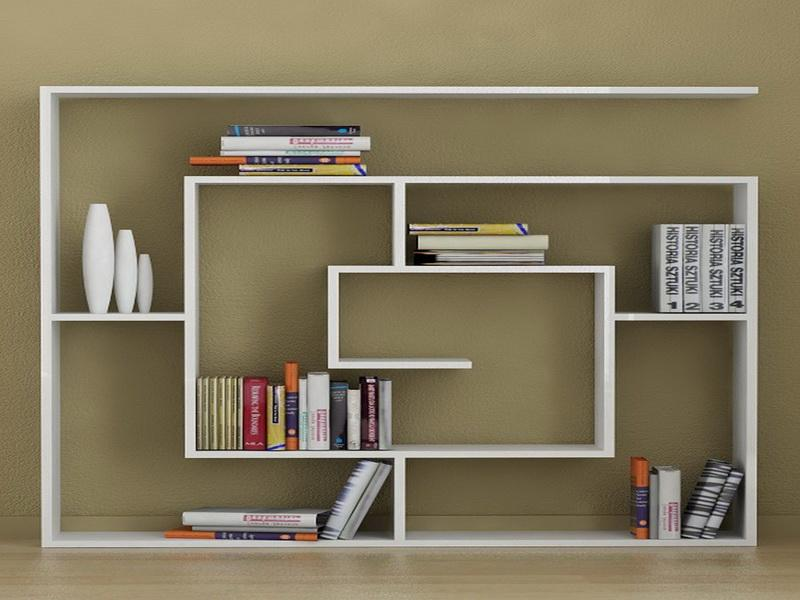 20 beautiful modern bookcase ideas for your home tolet insider - Modern bookshelf plans ...
