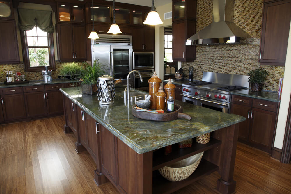 kitchen countertops quartz with dark cabinets. 4. Granite Is Breakable Kitchen Countertops Quartz With Dark Cabinets
