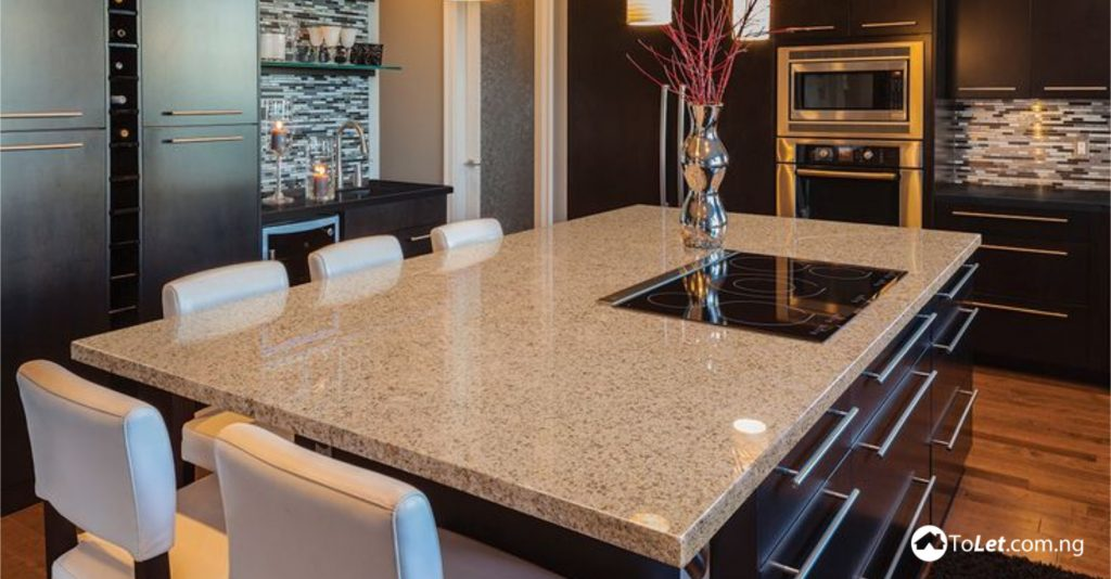 8 types of kitchen countertops tolet insider for Types of kitchen counters