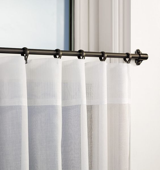 Cafe sash-rods