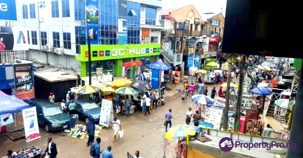 shopping in Lagos, computer village