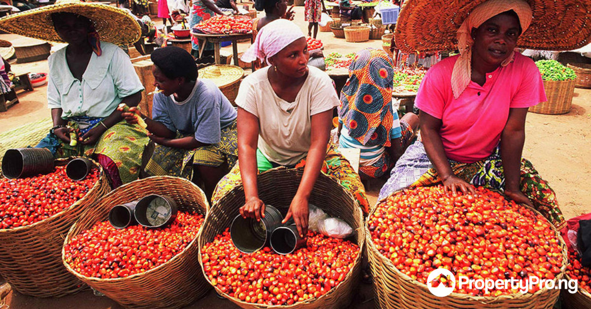 shopping in Lagos, mile 12 market