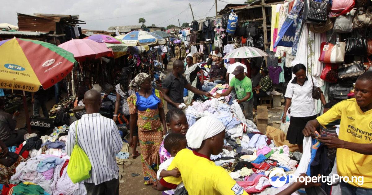 shopping in Lagos, katangua